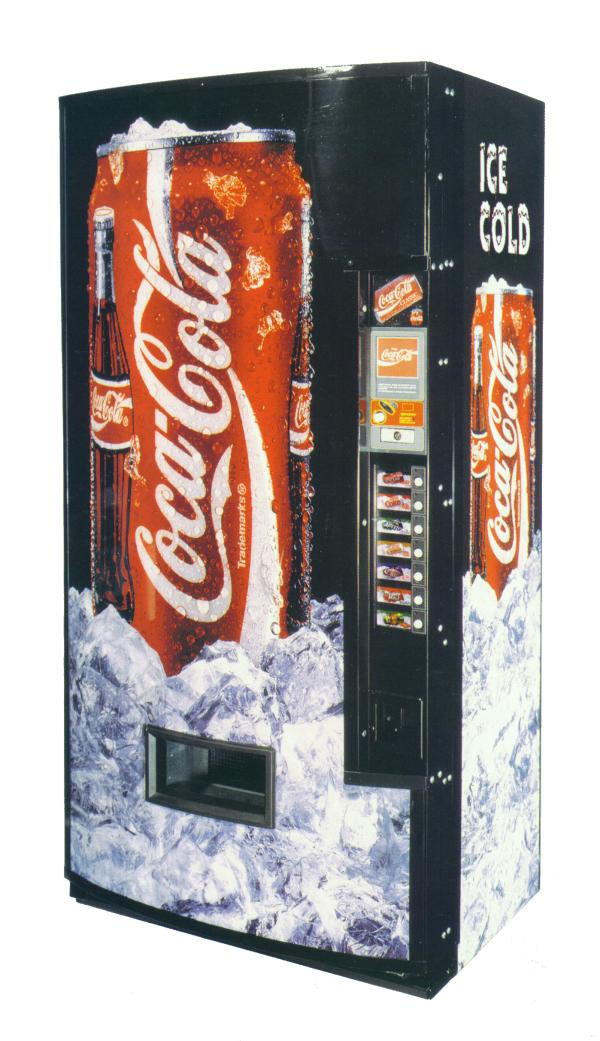 coke soda can vending machine we buy pinball machines sell your coin op video arcade game for. Black Bedroom Furniture Sets. Home Design Ideas