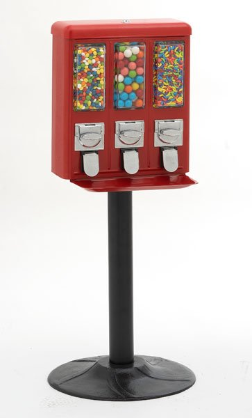 pedestal gumball machine