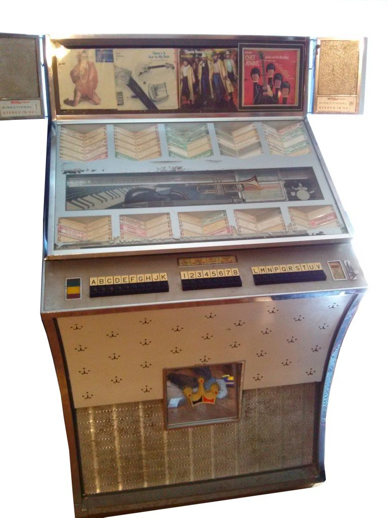 Record playing Jukebox