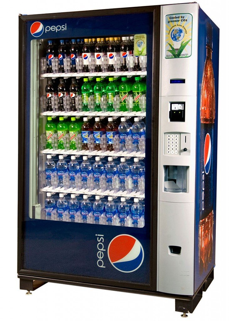 Pepsi Soda Vending machines wanted.