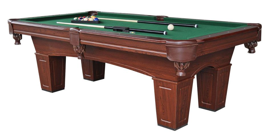 Slate pool table for home or coin-op