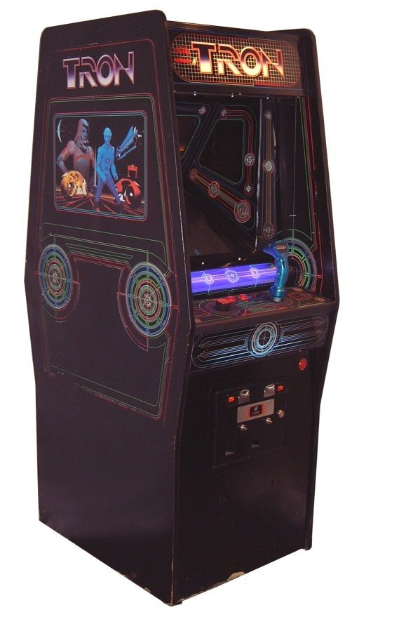 Classic Tron video arcade game!