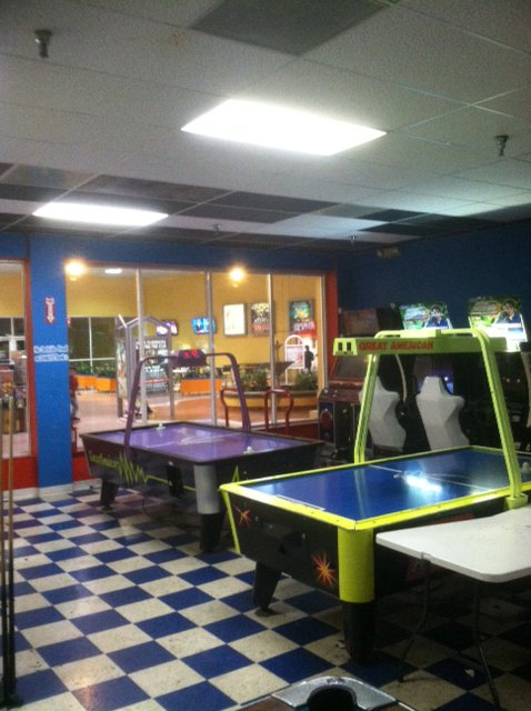 I get lots of arcade game liquidation sales. This one is in Florida.