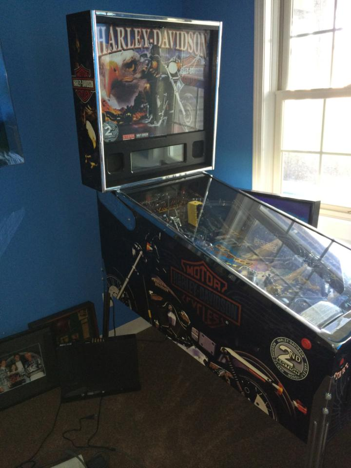Harley Davidson 174 2nd Edition Pinball Machine For Sale In