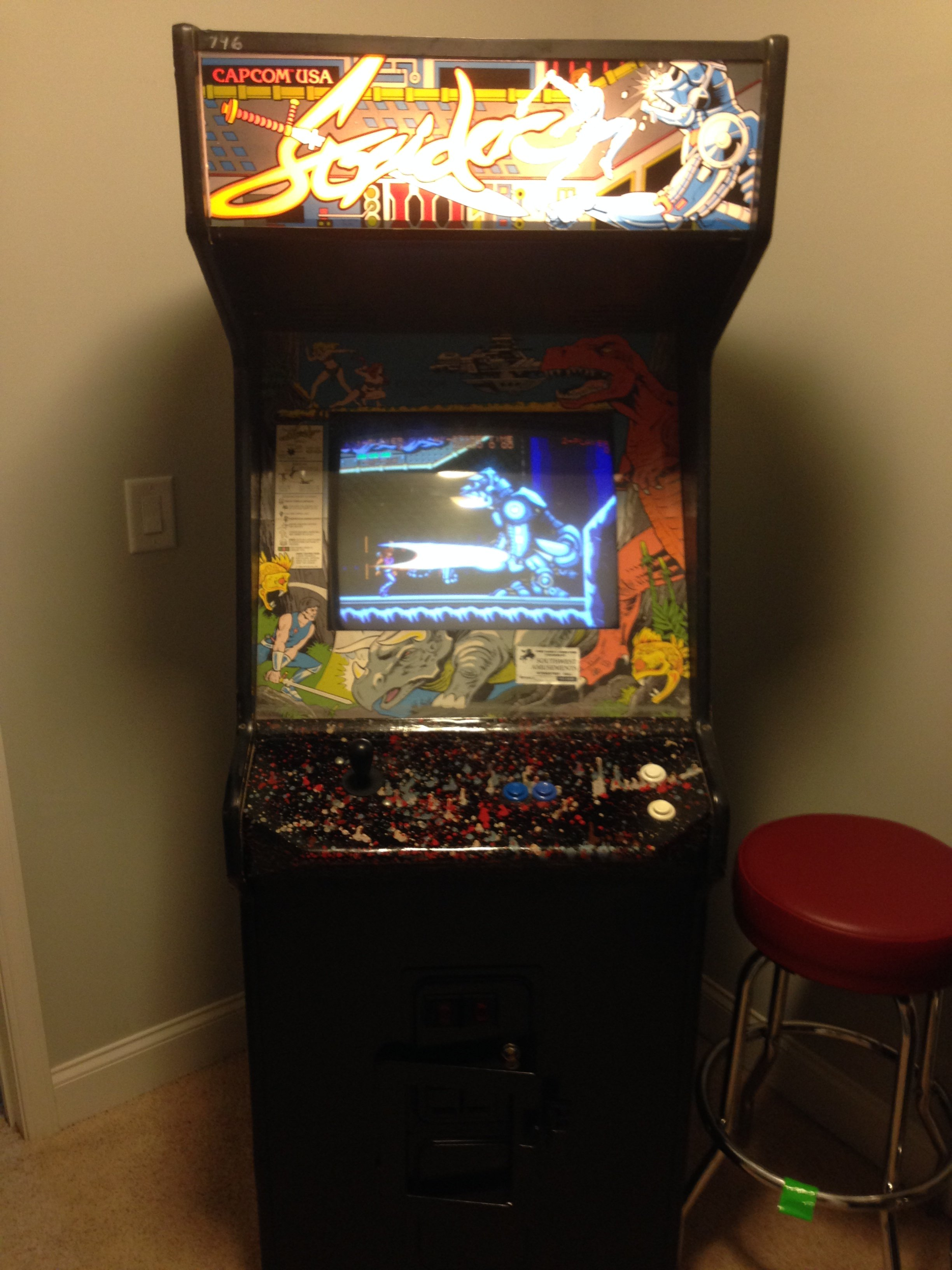 Working Krull Strider Video Arcade Games For Sale In