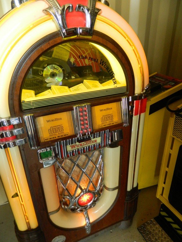 "Wurlitzer ""One More Time"" CD Jukebox for sale"