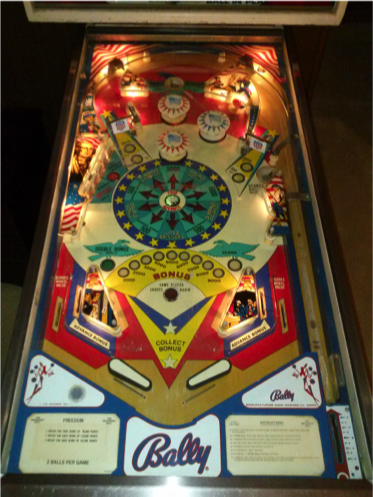 1776 freedom pinball machine for sale in Porter Ranch, CA