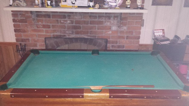 6' Valley pool table for sale.