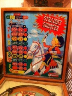Gottlieb 1959 Straight Shooter pinball machine