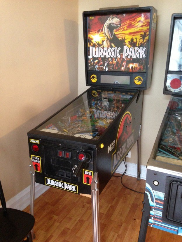 Jurassic Park pinball machine for sale in Chicago il