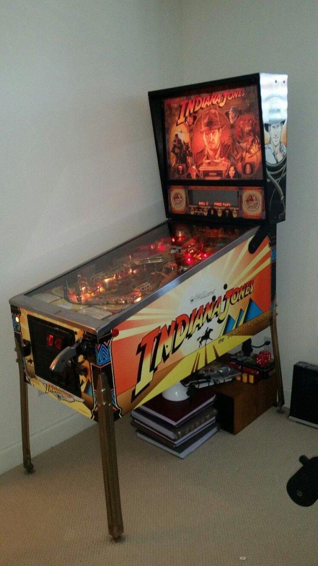 Williams Indiana Jones pinball machine ARC 181
