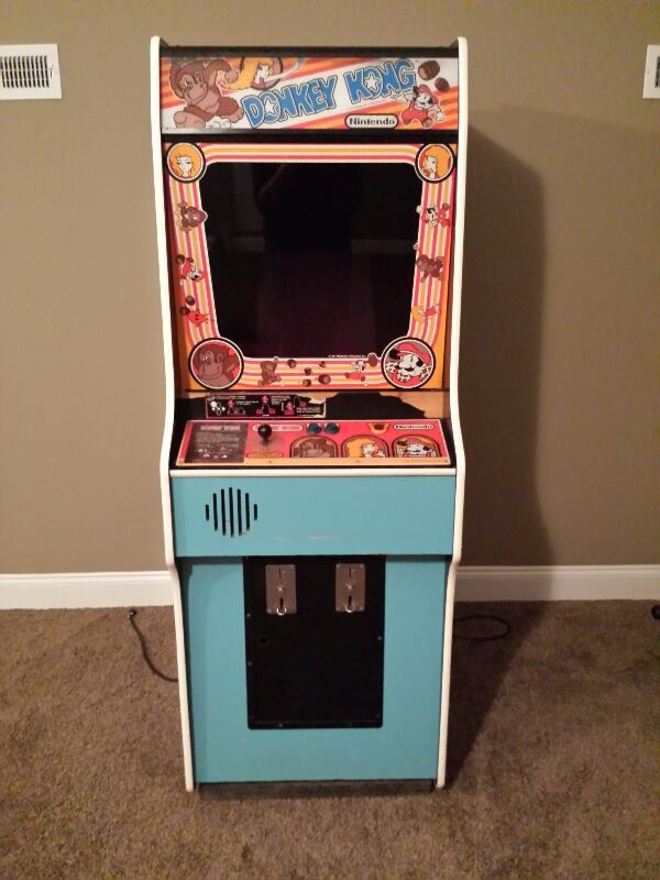 Donky Kong video arcade game for sale.