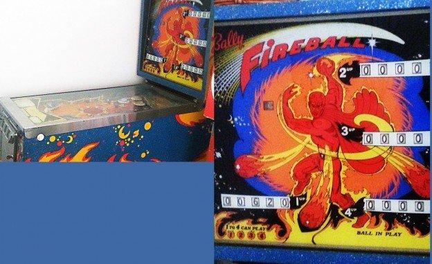 fireball pinball machine for sale in california