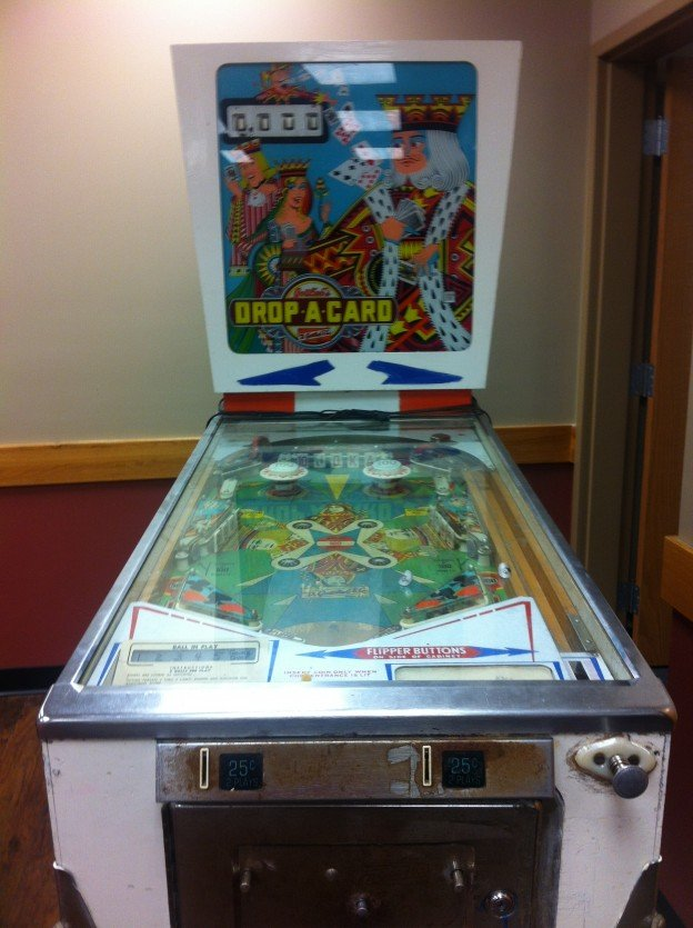 Drop a Card pinball machine for sale.