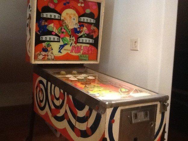 Fun Fest pinball machine for sale.