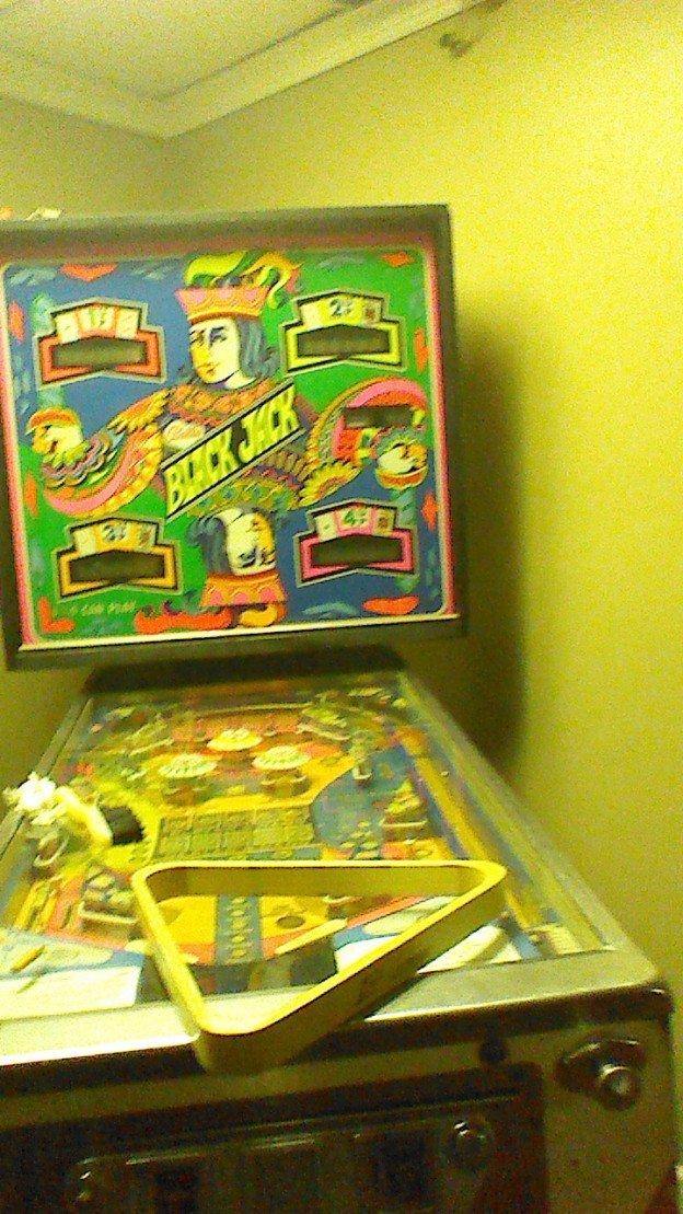 Black Jack pinball machine for sale in Stone mountain