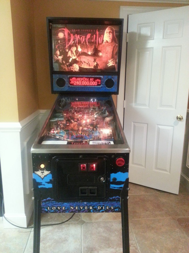 bram stokers dracula pinball machine for sale in mooresville nc. Black Bedroom Furniture Sets. Home Design Ideas