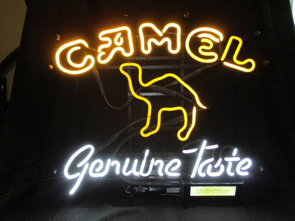 Camel Genuine Taste Cigarette Neon Sign For Sale In