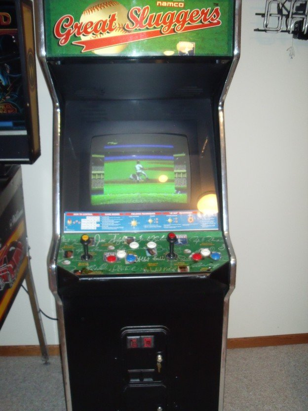 Namco Great Sluggers video game for sale