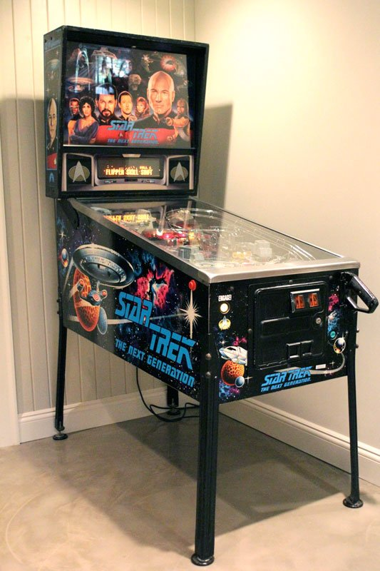 Star Trek The Next Generation Pinball Machine for sale Minneapolis