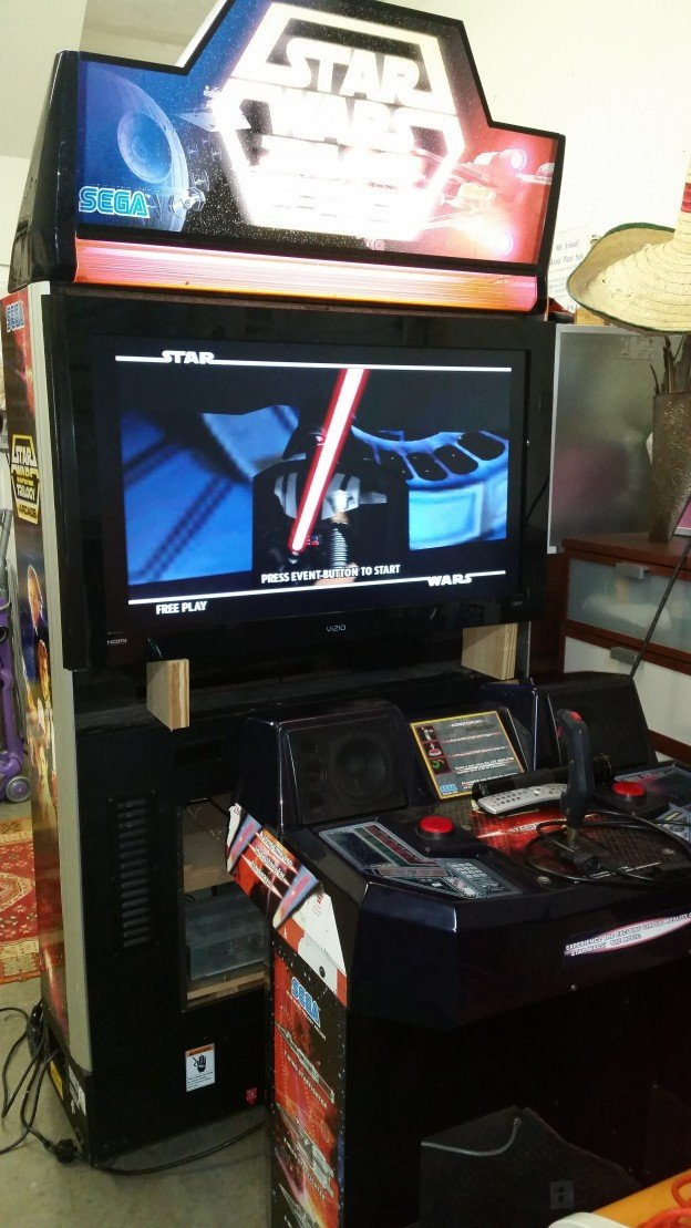 Star Wars Trilogy Arcade DX video arcade game
