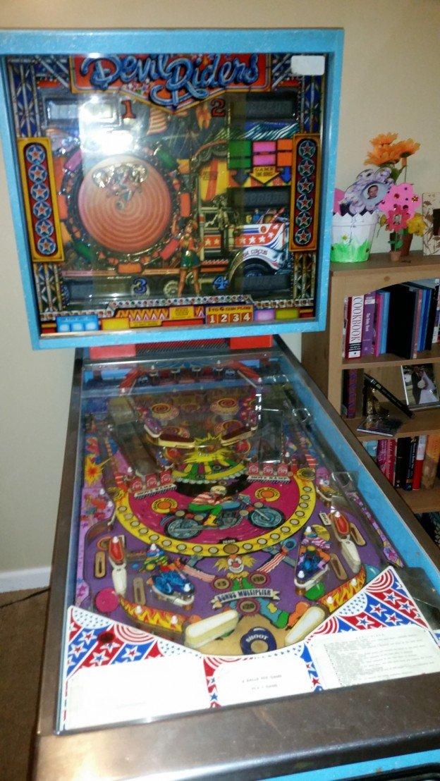 Zaccaria Devil Rider pinball machine