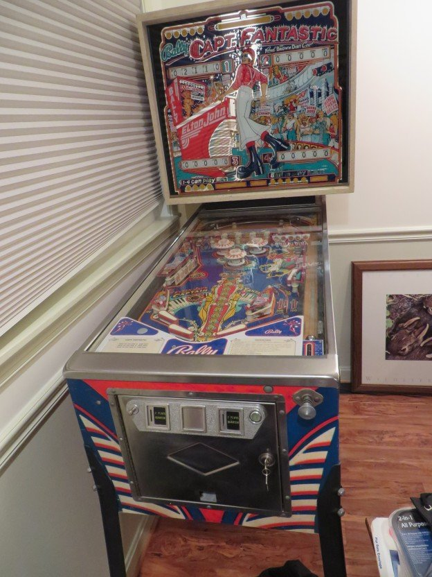 capt fantastic brown dirt cowboy pinball machine full