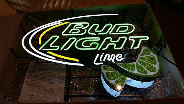 new Bud Light Lime neon sign