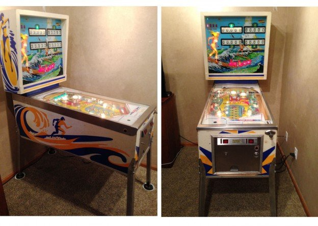 surf champ pinball machine