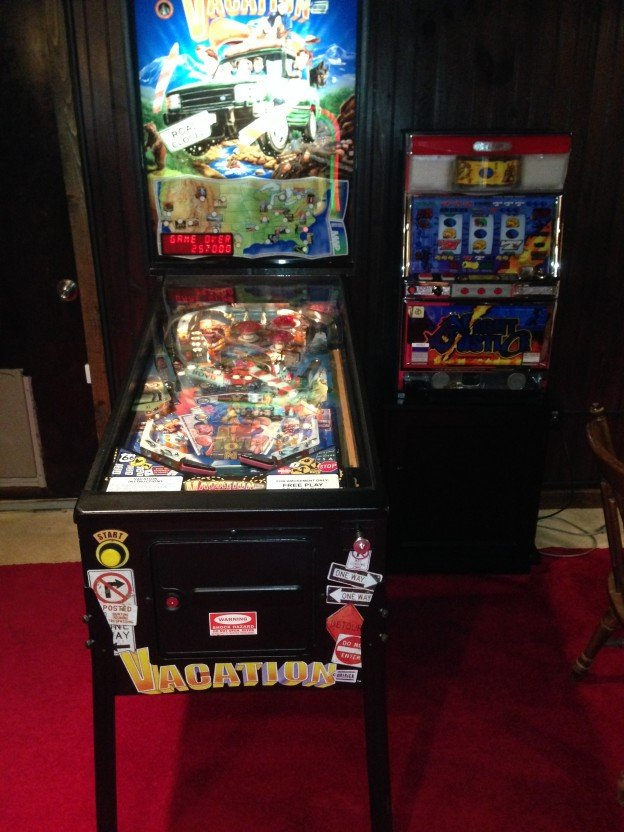 vacation pinball machine or sale in bristol tn