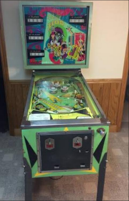 1969 Bally Hoo pinball machine full
