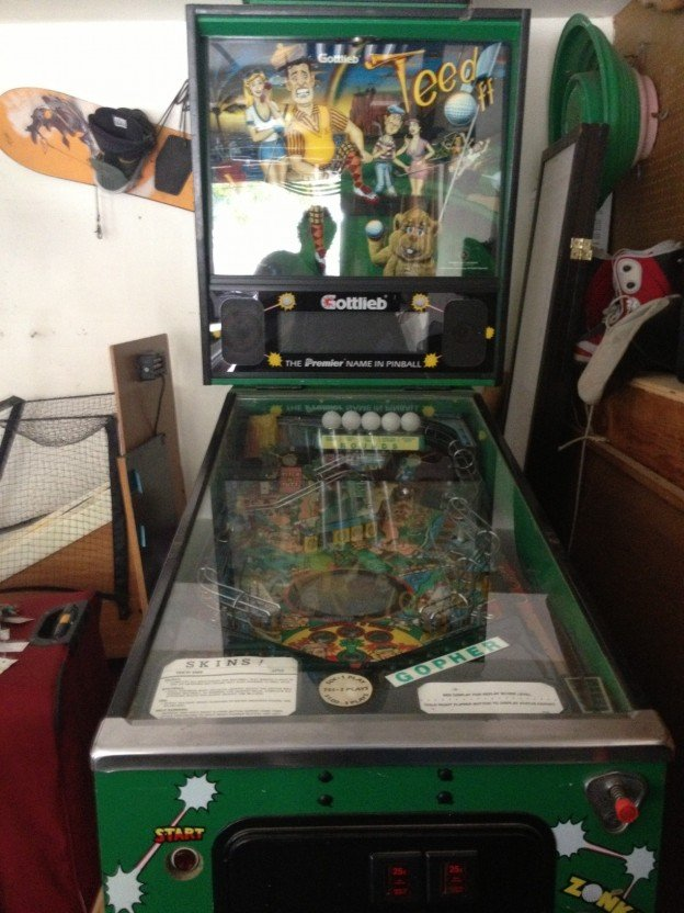 Gotlieb Tee-d Off pinball machien for sale
