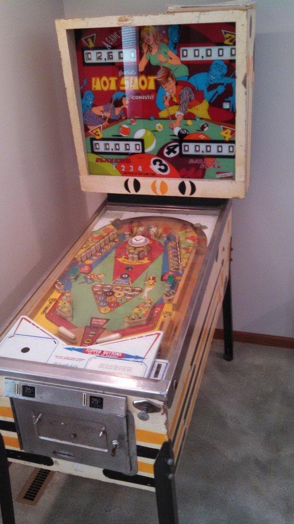 Hot Shot pinball machine for sale in - We buy pinball ...