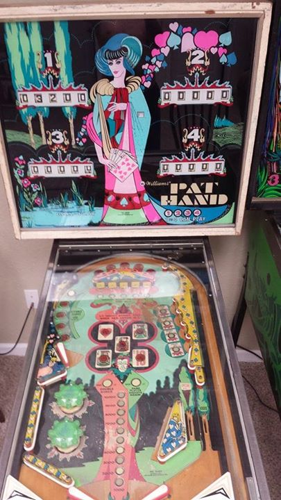 Pat Hand pinball machine for sale