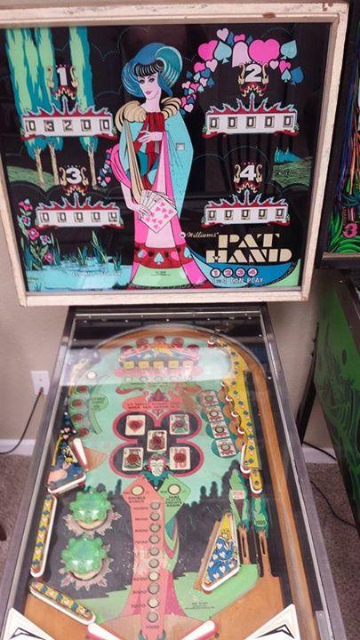 Pat Hand pinball machine for sale