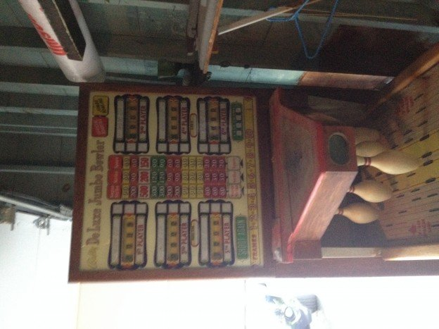 backglass and pins Bally deluxe jumbo bowler for sale