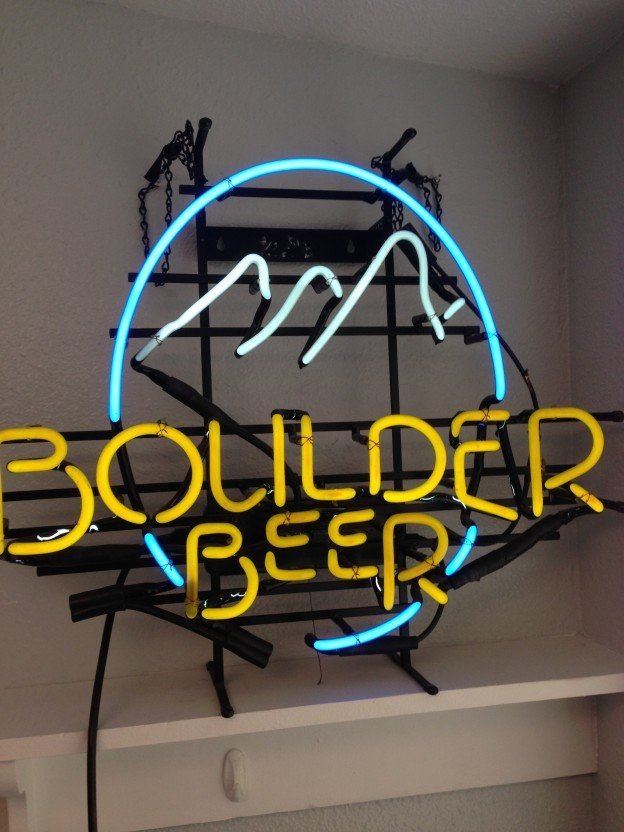 boulder beer neon sign for sale