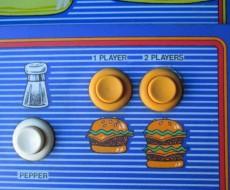 buttons Burgertime Video Arcade Game for sale in Sacramento