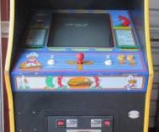 full game Burgertime Video Arcade Game for sale in Sacramento