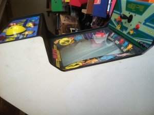 left side Pac Mania video arcade game for sale