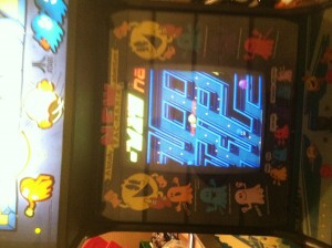 monitor Pac Mania video arcade game for sale
