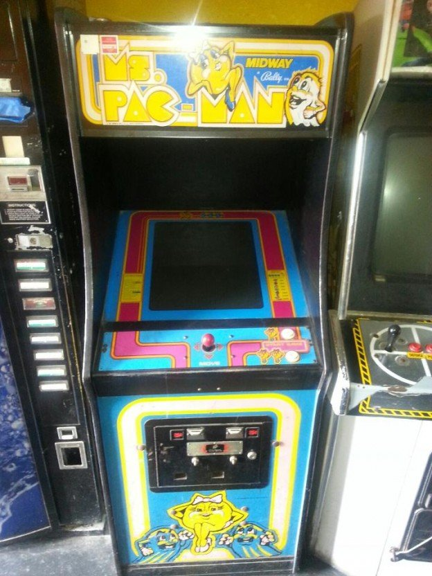 ms pac-man video arcade game in Compton