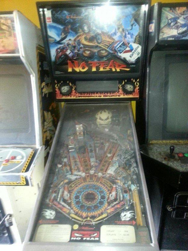 no fear pinball machine for sale in Compton