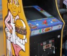 side Burgertime Video Arcade Game for sale in Sacramento