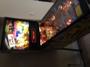 side HUO STERN simpsons pinball machine for sale