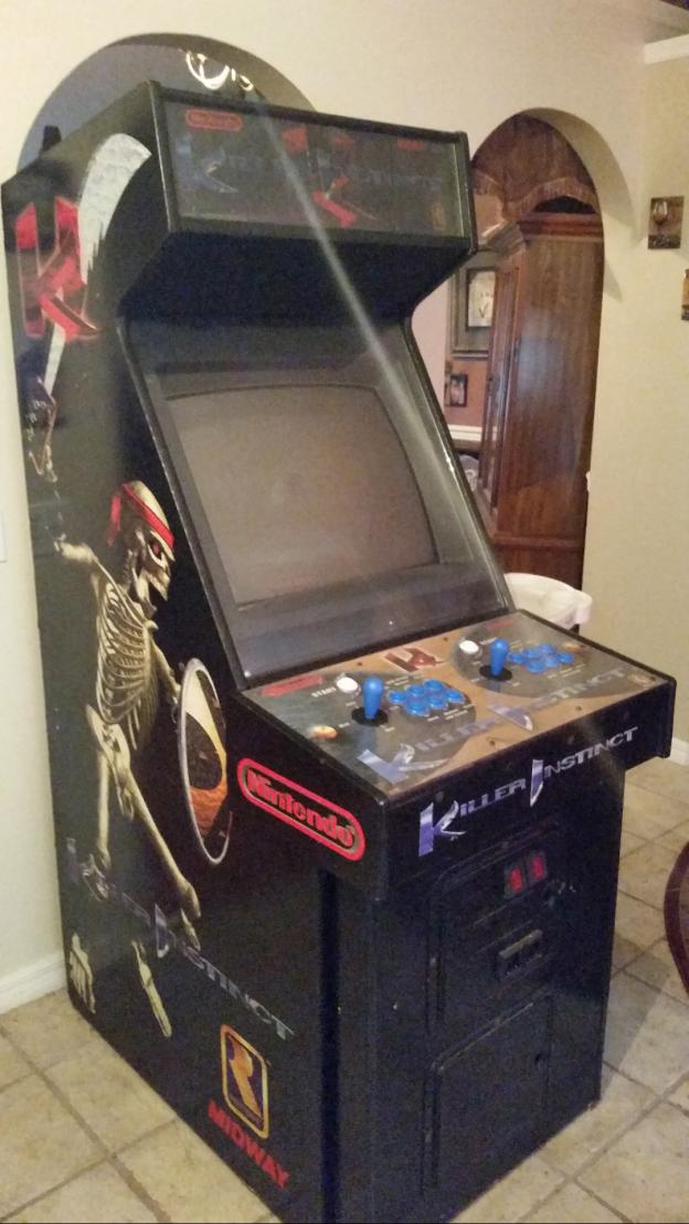 killer instinct video arcade game for sale