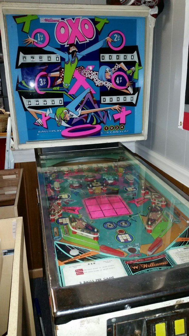 1970 Williams OXO pinball machine for sale