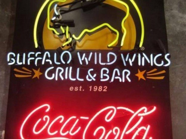 Buffalo Wild Wings Grill Bar Neon Sign For Sale In Orange County Ca