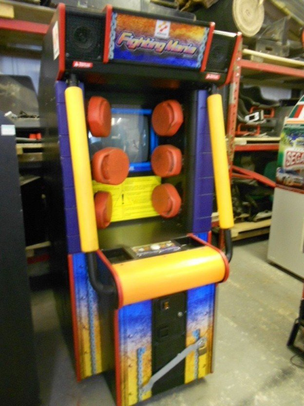 Fighting mania video arcade game for sale