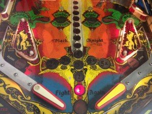 Flippers Black Knight pinball machine for sale in Arezzo Italy